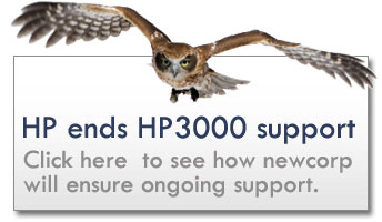 HP ends HP3000 - Check out our latest news to see how newcorp will ensure ongoing support.